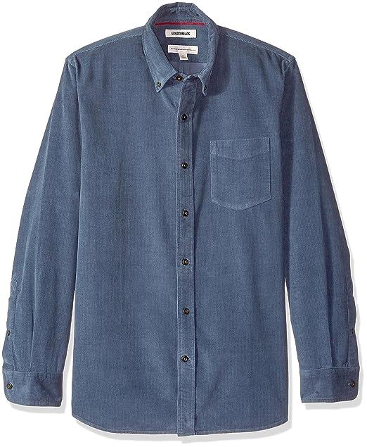 Amazon In A Velluto Camicia Goodthreads Maniche Marchio Lunghe 1JTKFlc