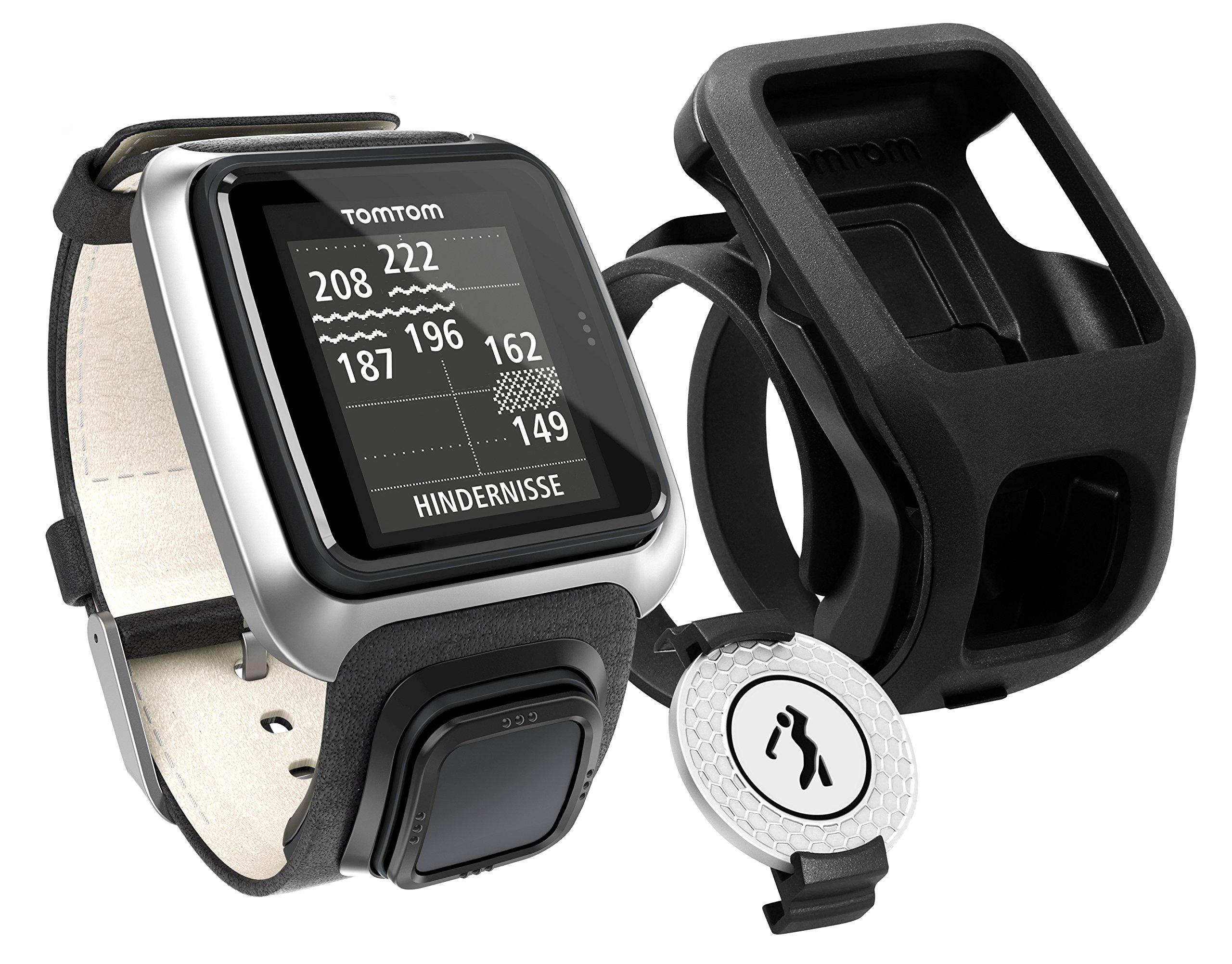 TomTom Golfer Premium Edition GPS Watch (Black)