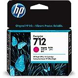 HP 712 Magenta 29-ml Genuine Ink Cartridge (3ED68A) for DesignJet T650, T630, T230, T210 & Studio Plotter Printers