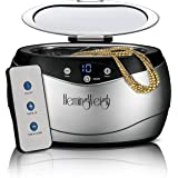 Jewelry Cleaner with Remote Control, Professional Ultrasonic Cleaner for Jewelry, Accessories, Coins, Tools, Dentures, 20 Oun