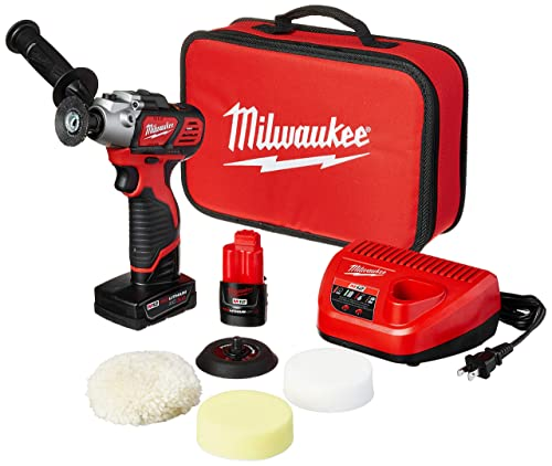 Milwaukee 2438-22X M12 Variable Speed Polisher Sander Xc Cp Kit