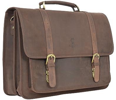 de171dd84f581 Gusti Leder studio quot Greg quot  Laptoptasche 17 quot  große  Umhängetasche Ledertasche Arbeitstasche Lehrertasche Unitasche Aktentasche