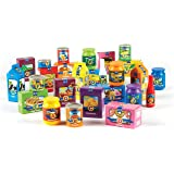 Learning Resources A to Z Alphabet Groceries, Imaginative Play Food, Alphabet Toys, 26 Pieces, Ages 3+