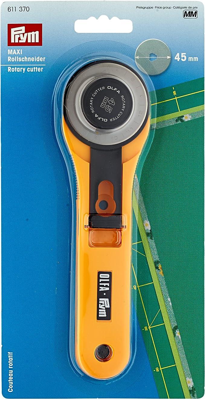 OLFA Standard 45mm Rollschneider für Patchwork Stoffe Quilt