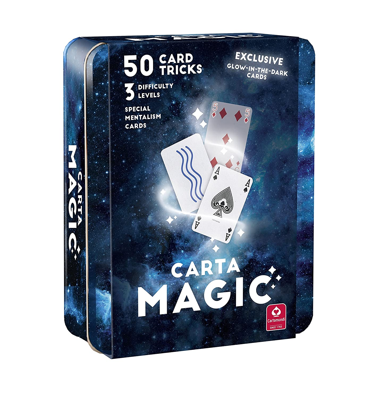 Cartamundi Carta de magia 50 trucos de tarjeta Fabulous Set ...