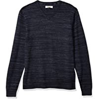 Marca Amazon - Goodthreads Soft Cotton V-neck Summer Sweater - pullover-sweaters Hombre