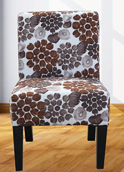 Fabulous Amazon Com Us Pride Furniture Grace Flower Patterned Fabric Gmtry Best Dining Table And Chair Ideas Images Gmtryco