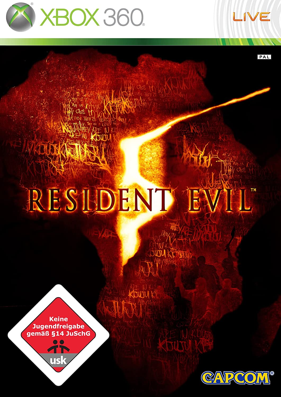 Capcom Resident Evil 5, Xbox 360 - Juego (Xbox 360): Amazon.es ...