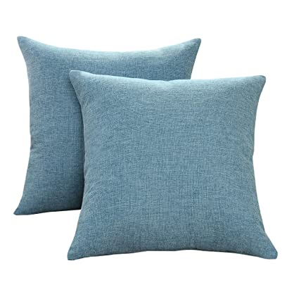 Incredible Sunday Praise Cotton Linen Decorative Throw Pillow Covers Classical Square Solid Color Pillow Cases 18X18 Inches Cushion Covers For Sofa Couch Uwap Interior Chair Design Uwaporg