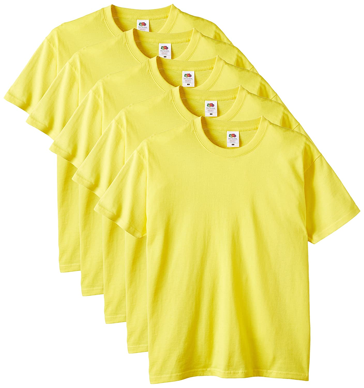 Fruit of the Loom Herren T-Shirt 5er-Pack 61-212-0