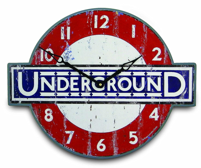 Roger Lascelles GAL Underground Wanduhr