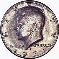 1971 D Kennedy Half Dollar 50C Brilliant Uncirculated