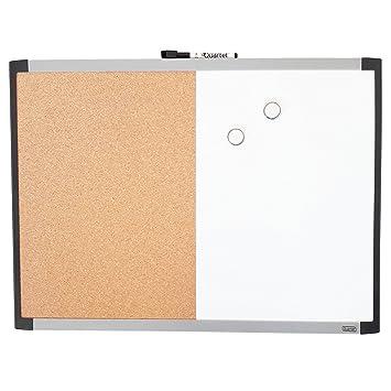 Herlitz Whiteboard und Magnettafel Größe 40 x 60cm mit Holzrahmen