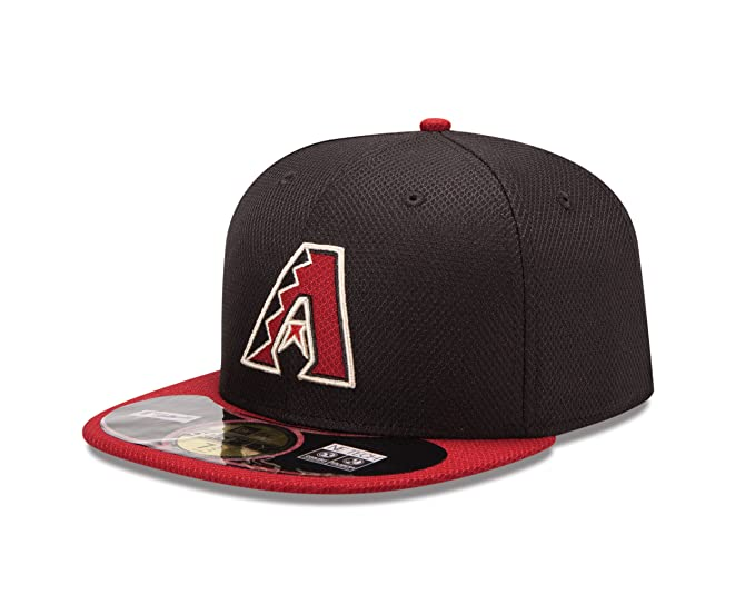 best service 78a29 acc55 Amazon.com   New Era MLB Home Diamond Era 59FIFTY Fitted Cap   Clothing