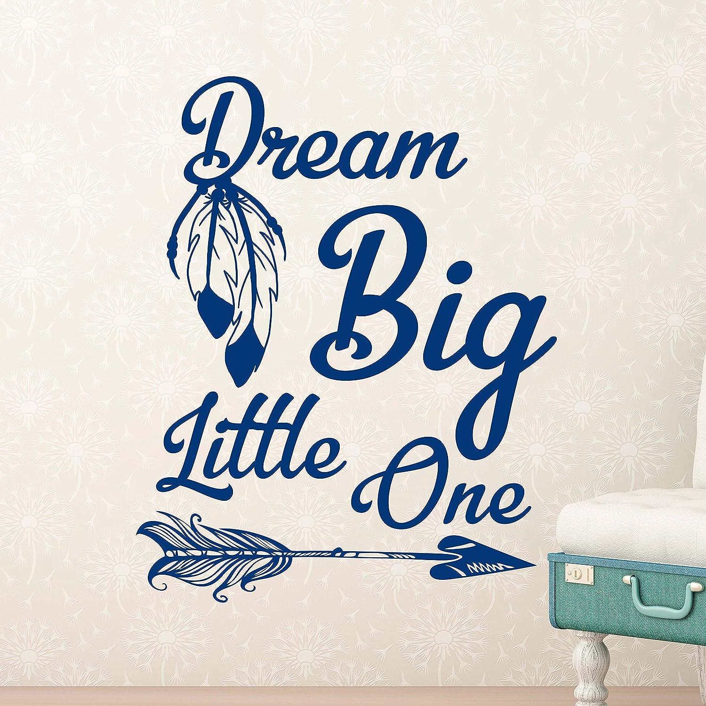 Amazoncom Wall Decals Boho Baby Nursery Wall Decal Dream Big