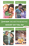 Harlequin Heartwarming August 2017 Box Set: A Dad for Charlie\The Sergeant's Temptation\The Alaskan Catch\New Year's Wedding