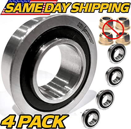 (4 Pack) 1713167SM, 1713167 Snapper Simplicity Front Wheel Bushing to  Bearing Conversion Kit - OEM Upgrade - HD Switch