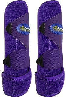Intrepid International Gel Insert Splint Boots Black X-Large