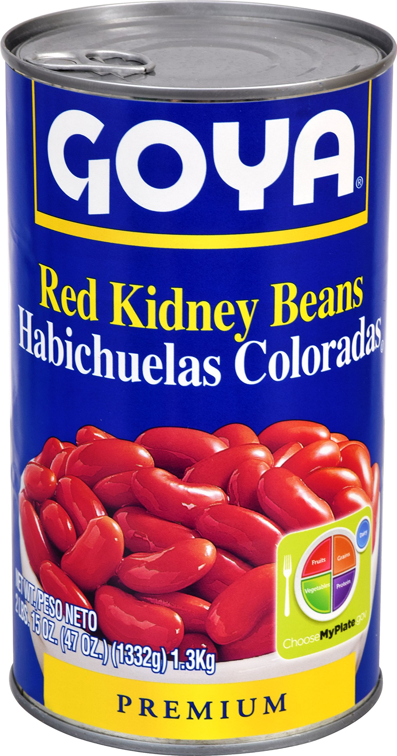 Goya Foods Red Kidney Beans, 47 Ounce (Pack of 12)