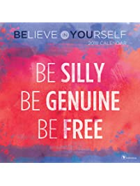 Amazon inspirational calendars books 2018 believe in yourself wall calendar solutioingenieria Choice Image