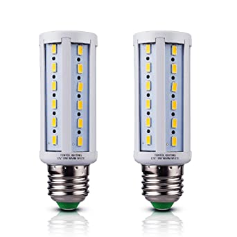 12v E26 LED Bulbs Warm White 10 Watts Low Voltage DC 12 Volt Edison Base Light  sc 1 st  Amazon.com & 12v E26 LED Bulbs Warm White 10 Watts Low Voltage DC 12 Volt ... azcodes.com