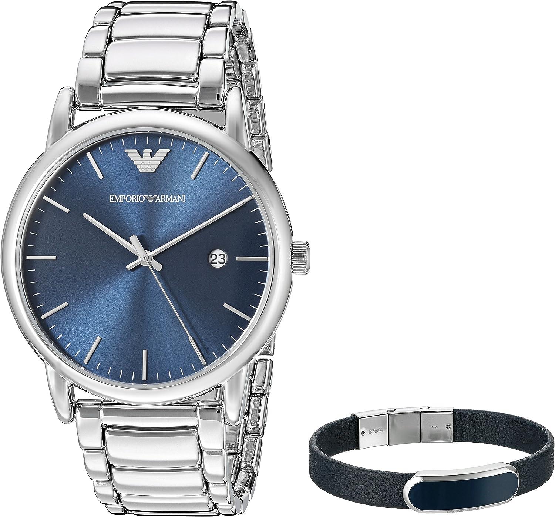 Emporio Armani AR8033 Reloj de Hombres: Amazon.es: Relojes