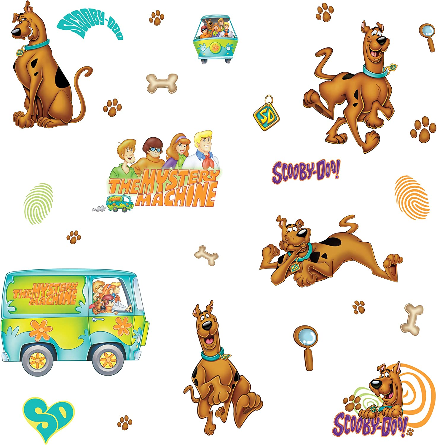 RoomMates Scooby Doo Peel and Stick Wall Decals