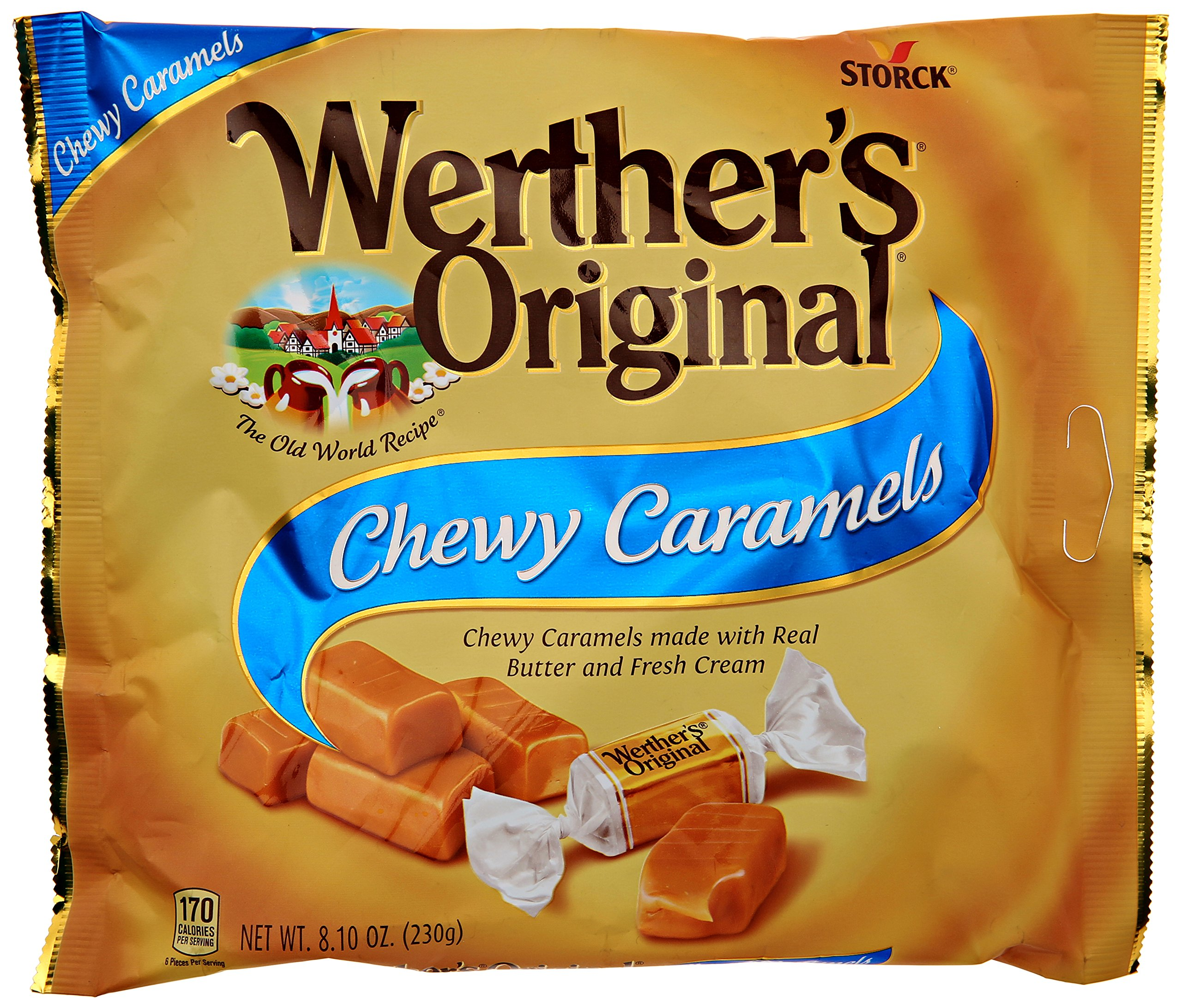 Werther's Original Chewy Caramels, 8.1 Ounce