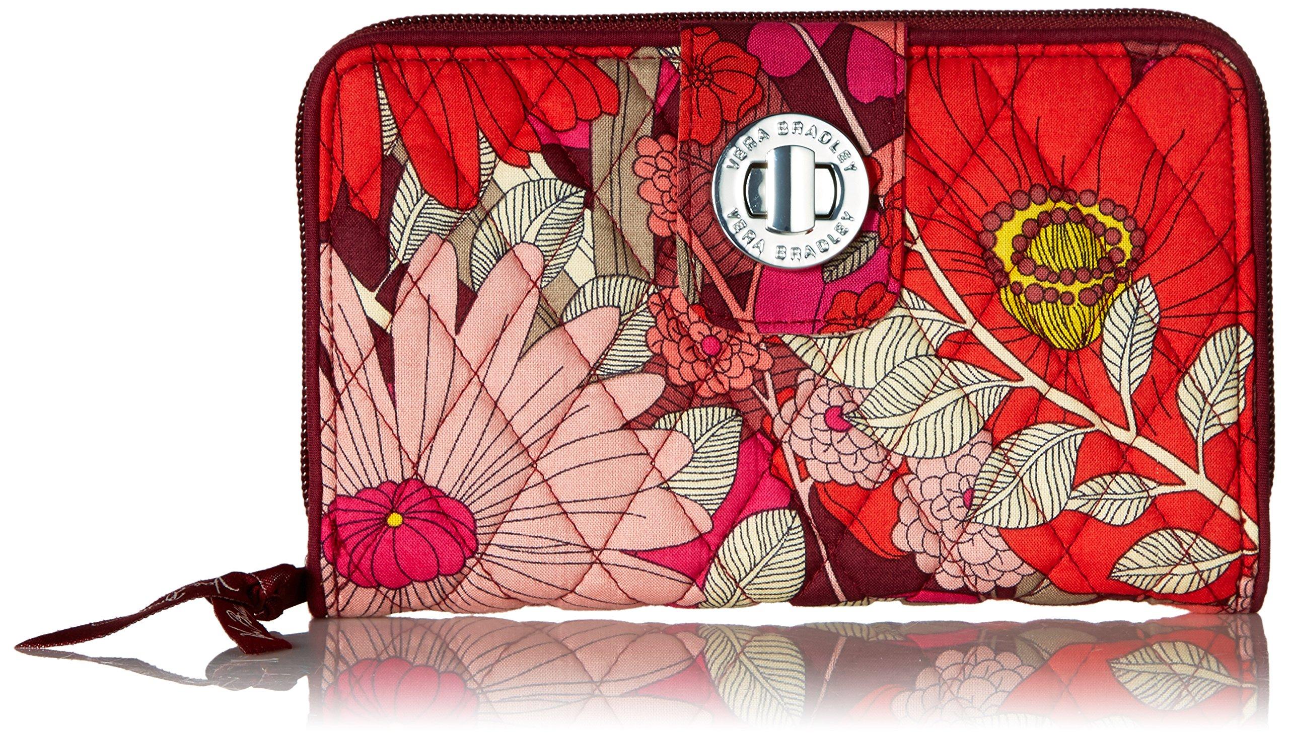 Turnlock Wallet Bohemian Blooms, One Size