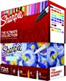 Sharpie Permanent Markers Ultimate Collection, Fine and Ultra Fine Points, Assorted Colors, 72 Count