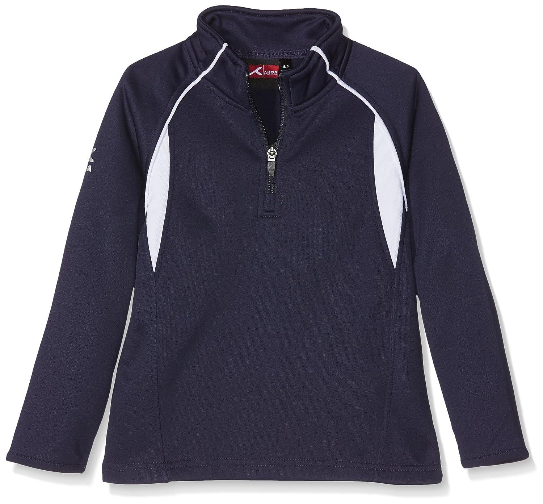 AKOA Unisex Mid-Layer Track Jacket Blue (Navy/White) 11-12 Years MLS
