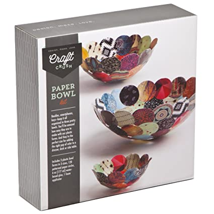 Ann Williams Group Craft Crush Paper Bowls