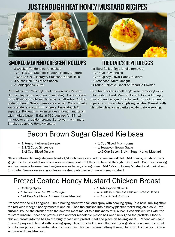 Amazon.com : Slow Smoked Jalapeno Honey Mustard - Sauce, Dressing ...