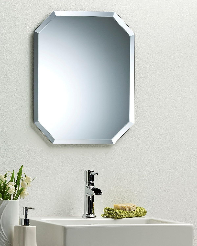 Neue Design Octagon Bathroom Wall Mirror Modern Stylish With Bevel ...