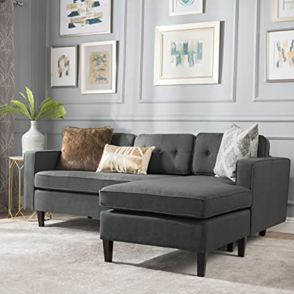 and amazon wayfair sofa poundex chaise ottoman best sectional grey sellers set