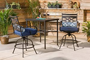 Hanover MCLRDN3PCBRSW2-NVY Montclair, Navy Outdoor Furniture