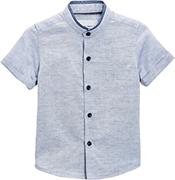 next Niños Camisa Cuello Mao Manga Corta (3 Meses - 6 Años ...