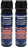 Pepper Enforcement (Pack of 2) Fogger Police Grade Self Defense Pepper Spray - Max Strength 10% OC Law Enforcement Formula - Pack of Two 4-Ounce Fog Canisters w/Safety Flip Top - 4 Year Shelf Life