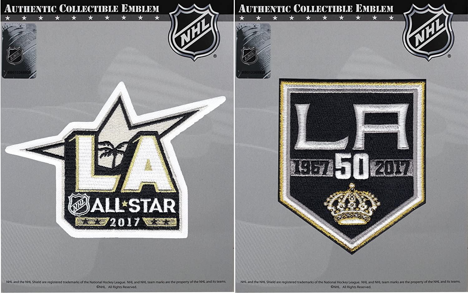 free shipping aa870 2b978 2016 NHL Los Angeles Kings 50th Anniversary & 2017 All Star Combo Jersey  Patch