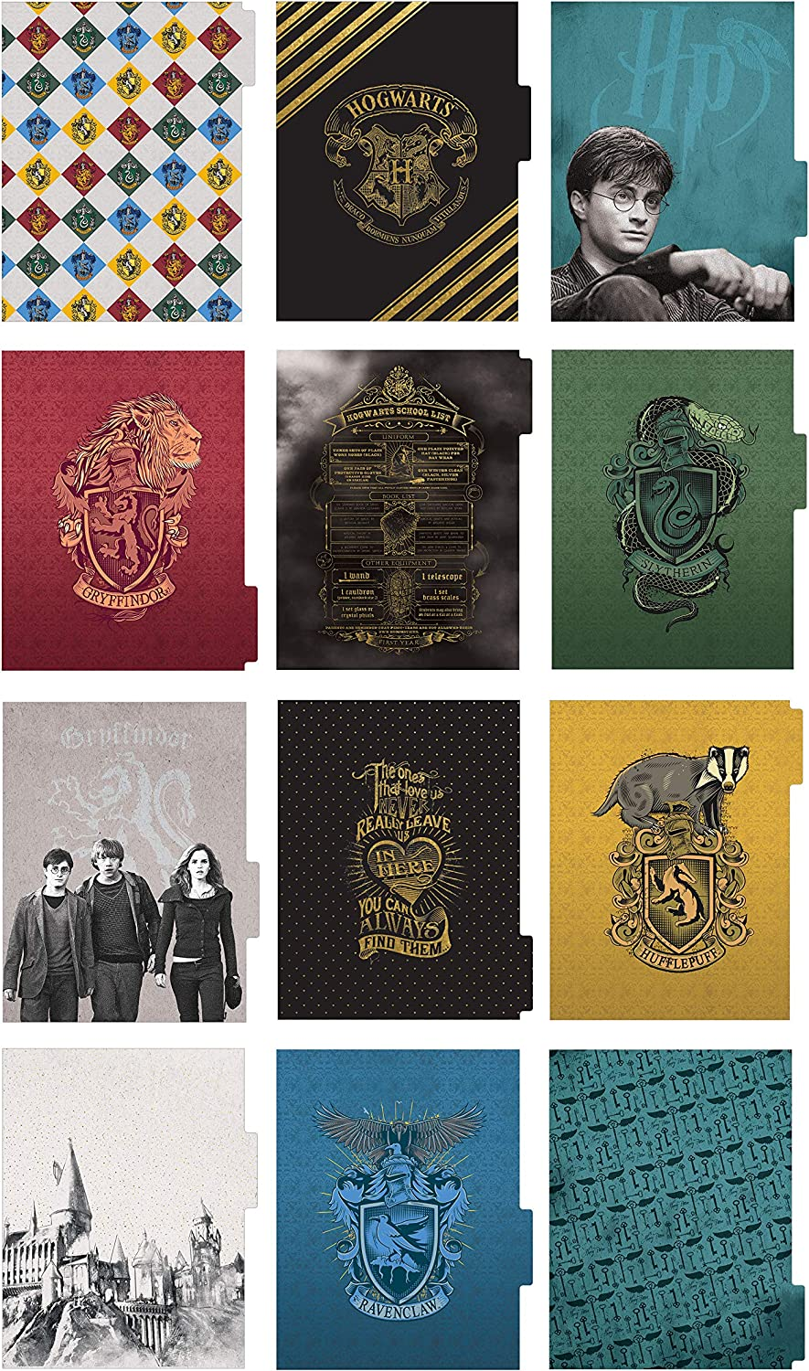Hogwarts Paper House PL2006E Life Organized 12-Month Undated Planner