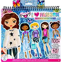 Fashion Angels I Love Fashion Sketch Portfolio for Kids - Fashion Design Sketch Book for Beginners, Fashion Sketch Pad…