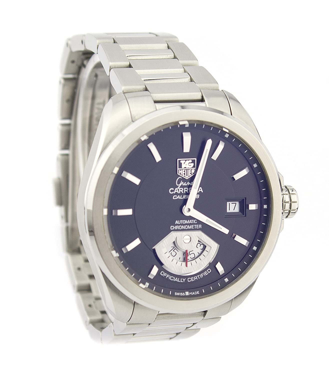 Amazon.com: Tag Heuer Carrera automatic-self-wind mens Watch ...