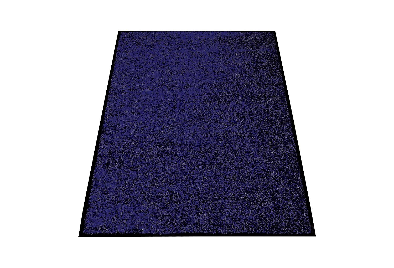Miltex 22042 Schmutzfangmatte Eazycare, 120 x 180 cm, waschbar, dunkelblau