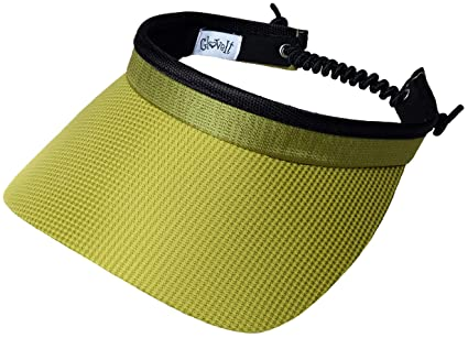 3952f512 Glove It Women's Adjustable Coil Visor Golf & Tennis Head Visors for Women  - UV 50