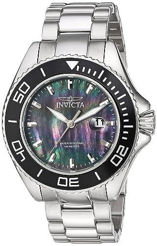 Invicta 23068 Pro Diver Reloj para Hombre acero inoxidable Cuarzo Esfera negro: Invicta: Amazon.es: Relojes