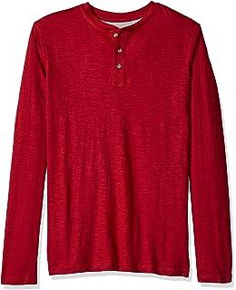 9967cc4ffb1 Seraih Men s Long Sleeve Henley Tee Raglan Sleeve Shirts at Amazon ...