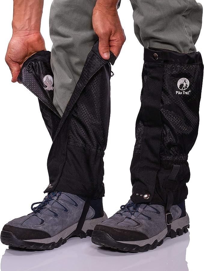 RETYLY 1 Pair Waterproof Outdoor Snow Legging Gaiters Ski Gaiters for Hiking Walking Climbing Hunting,Sky Blue