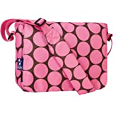 Wildkin Big Dots Pink 13 Inch x 10 Inch Messenger Bag