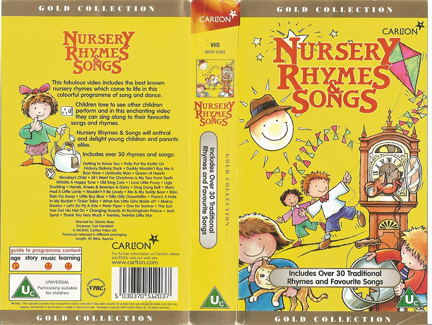 Start of nursery rhymes songs uk vhs 2000 famous nursery for Classic uk house tracks