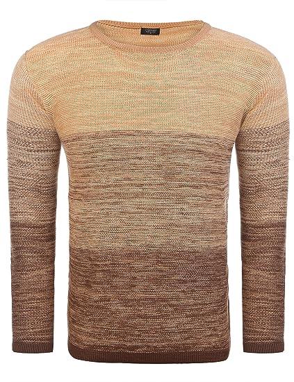 73f3d4b1d Coofandy - Pull - Homme: Amazon.fr: Vêtements et accessoires